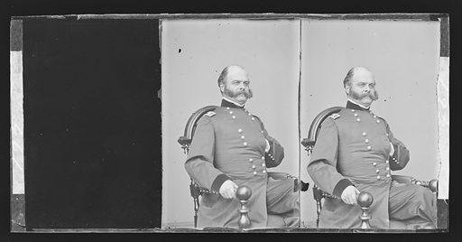 Ambrose Everett Burnside. Sitter: Ambrose Everett Burnside, 23 May 1824 – 13 Sep 1881. Date: 1880s. Record ID: npg_NPG.81.M2951.2.