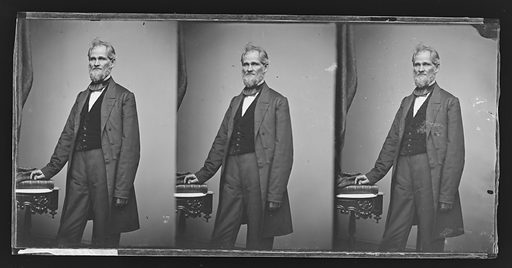 Henry S. Lane. Sitter: Henry Smith Lane, 24 Feb 1811 – 18 Jun 1881. Date: 1860s. Record ID: npg_NPG.81.M2960.3.