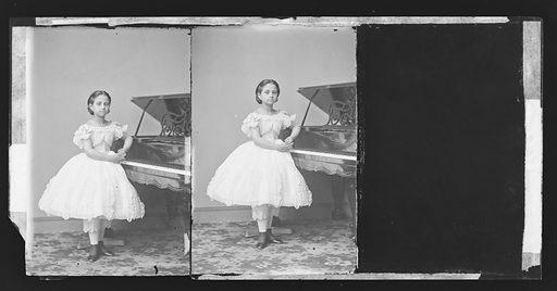 Teresa Carreño. Sitter: Teresa Carreño, 1853 – 1917. Date: 1860s. Record ID: npg_NPG.81.M217.