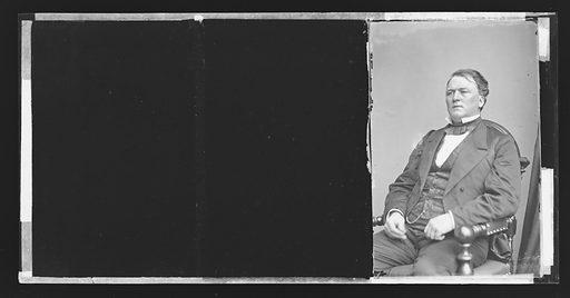 Jesse D. Bright. Sitter: Jesse David Bright, 1812 – 1875. Date: 1860s. Record ID: npg_NPG.81.M2962.