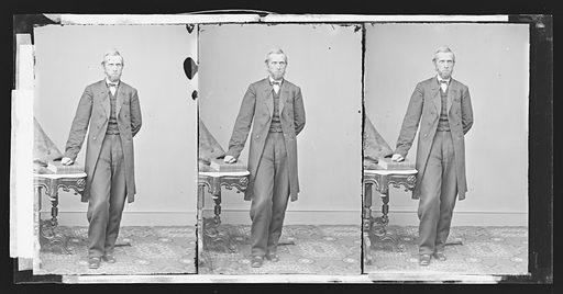 William H. Randall. Sitter: William Harrison Randall, 15 Jul 1812 – 1 Aug 1881. Date: 1860s. Record ID: npg_NPG.81.M2967.3.
