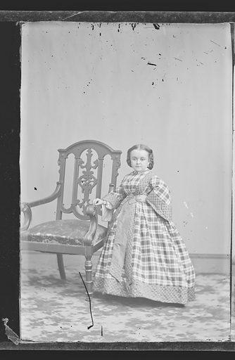 Mercy Lavinia Warren Stratton. Sitter: Lavinia Warren Stratton, 31 Oct 1841 – 25 Nov 1919. Date: 1860s. Record ID: npg_NPG.81.M3009.1.