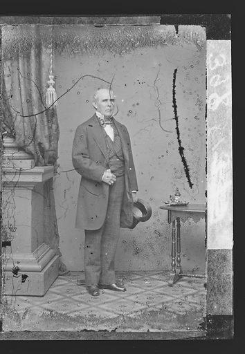Peter Washington. Sitter: Peter Washington. Date: 1860s. Record ID: npg_NPG.81.M3030.2.