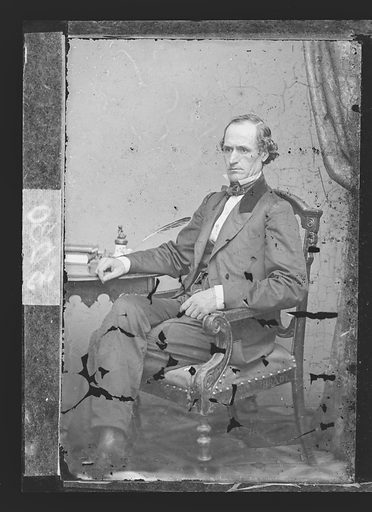Morton S. Wilkinson. Sitter: Morton Smith Wilkinson, 22 Jan 1819 – 4 Feb 1894. Date: 1860s. Record ID: npg_NPG.81.M3050.2.