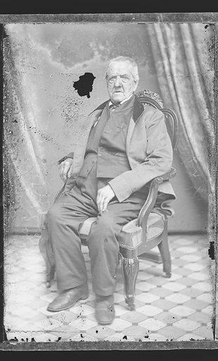 Grant Thorburn. Sitter: Grant Thorburn, 1773 – 1863. Date: 1860s. Record ID: npg_NPG.81.M3060.1.