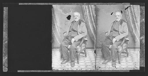 Grant Thorburn. Sitter: Grant Thorburn, 1773 – 1863. Date: 1860s. Record ID: npg_NPG.81.M3060.2.