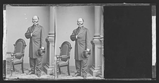 Ambrose Everett Burnside. Sitter: Ambrose Everett Burnside, 23 May 1824 – 13 Sep 1881. Date: 1880s. Record ID: npg_NPG.81.M3081.2.