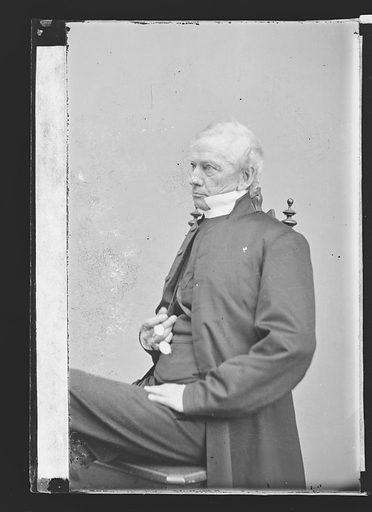 Horatio Potter. Sitter: Horatio Potter, 1802 – 1887. Date: 1860s. Record ID: npg_NPG.81.M3102.