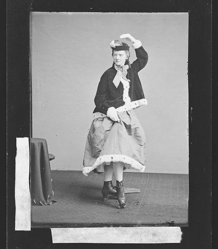 Roller Skater. Date: 1860s. Record ID: npg_NPG.81.M3126.