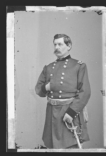 George Brinton McClellan. Sitter: George Brinton McClellan, 3 Dec 1826 – 29 Oct 1885. Date: 1860s. Record ID: npg_NPG.81.M3127.1.