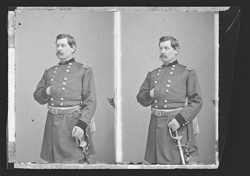George Brinton McClellan. Sitter: George Brinton McClellan, 3 Dec 1826 – 29 Oct 1885. Date: 1860s. Record ID: npg_NPG.81.M3129.3.