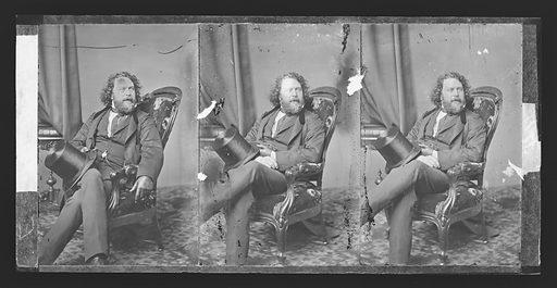 Richard Vaux. Sitter: Richard Vaux, 1816 – 1895. Date: 1860s. Record ID: npg_NPG.81.M3135.3.