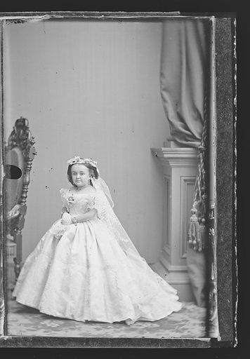 Mercy Lavinia Warren Stratton. Sitter: Lavinia Warren Stratton, 31 Oct 1841 – 25 Nov 1919. Date: 1860s. Record ID: npg_NPG.81.M3143.3.