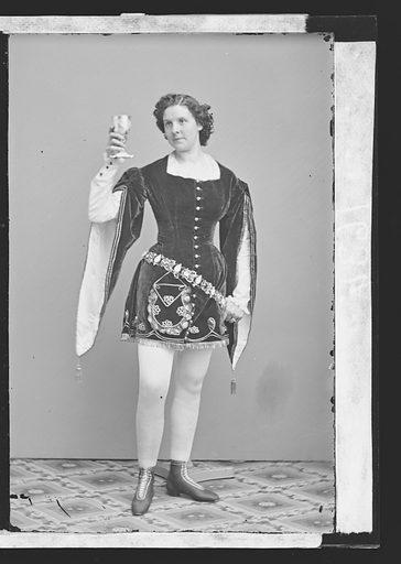 Kate Morenski. Sitter: Kate Morenski. Date: 1860s. Record ID: npg_NPG.81.M3173.