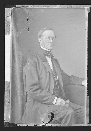 Daniel Phoenix Ingraham. Sitter: Daniel Phoenix Ingraham, 1800? – 1881. Date: 1860s. Record ID: npg_NPG.81.M3193.