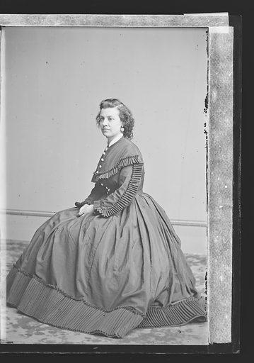 Pauline Cushman. Sitter: Pauline Cushman, 10 Jun 1833 – 2 Dec 1893. Date: 1860s. Record ID: npg_NPG.81.M3194.1.
