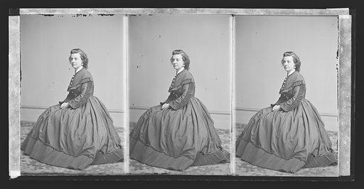 Pauline Cushman. Sitter: Pauline Cushman, 10 Jun 1833 – 2 Dec 1893. Date: 1860s. Record ID: npg_NPG.81.M3194.3.
