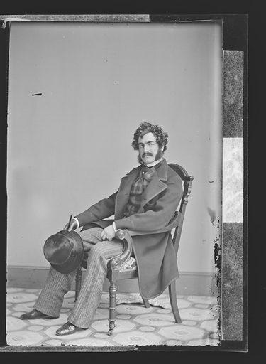 Lester Wallack. Sitter: Lester Wallack, 1 Jan 1820 – 6 Sep 1888. Date: 1860s. Record ID: npg_NPG.81.M250.