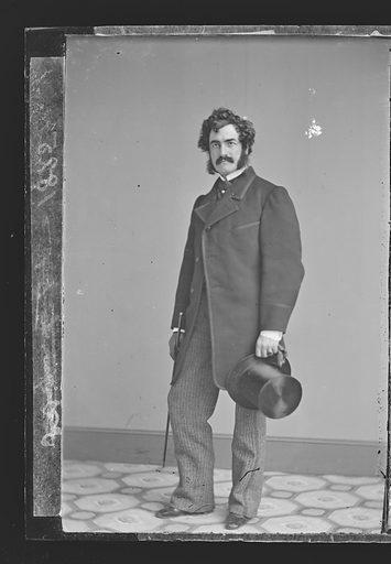 Lester Wallack. Sitter: Lester Wallack, 1 Jan 1820 – 6 Sep 1888. Date: 1860s. Record ID: npg_NPG.81.M3210.1.