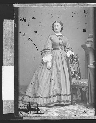 Harriet Lane. Sitter: Harriet Lane Johnston, 9 May 1830 – 3 Jul 1903. Date: 1860s. Record ID: npg_NPG.81.M3211.1.