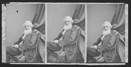 Samuel F. B. Morse. Sitter: Samuel Finley Breese Morse, 27 Apr 1791 – 2 Apr 1872. Date: 1860s. Record ID: npg_NPG.81.M3218.2.