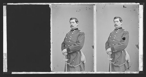 George Brinton McClellan. Sitter: George Brinton McClellan, 3 Dec 1826 – 29 Oct 1885. Date: 1860s. Record ID: npg_NPG.81.M3223.1.