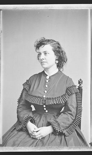 Pauline Cushman. Sitter: Pauline Cushman, 10 Jun 1833 – 2 Dec 1893. Date: 1860s. Record ID: npg_NPG.81.M3231.2.