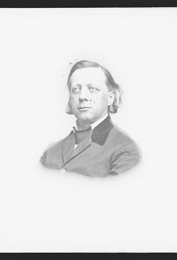Henry Ward Beecher. Sitter: Henry Ward Beecher, 24 Jun 1813 – 8 Mar 1887. Date: 1860s. Record ID: npg_NPG.81.M3232.2.