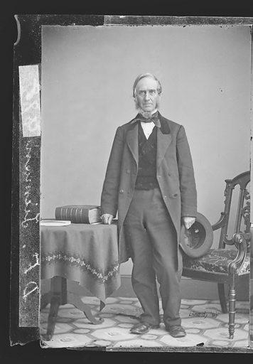 Daniel F. Tiemann. Sitter: Daniel F. Tiemann, 1805 – 1899. Date: 1860s. Record ID: npg_NPG.81.M3251.1.