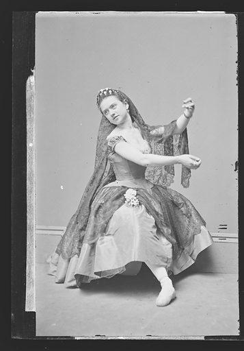 Ernestine de Faiber. Sitter: Ernestine de Faiber, 1843 – ? Date: 1860s. Record ID: npg_NPG.81.M3281.1.