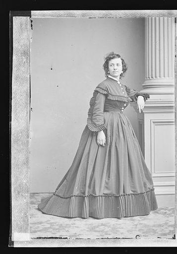 Pauline Cushman. Sitter: Pauline Cushman, 10 Jun 1833 – 2 Dec 1893. Date: 1860s. Record ID: npg_NPG.81.M3305.1.
