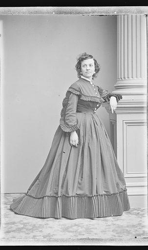 Pauline Cushman. Sitter: Pauline Cushman, 10 Jun 1833 – 2 Dec 1893. Date: 1860s. Record ID: npg_NPG.81.M3305.2.