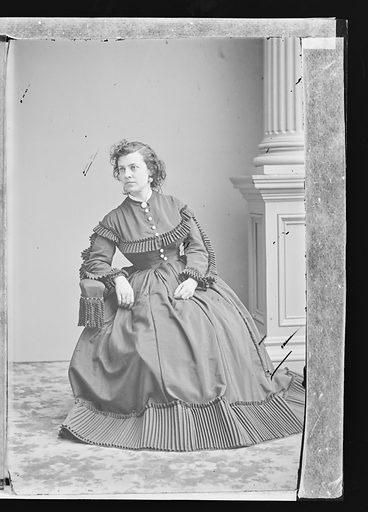 Pauline Cushman. Sitter: Pauline Cushman, 10 Jun 1833 – 2 Dec 1893. Date: 1860s. Record ID: npg_NPG.81.M3306.3.