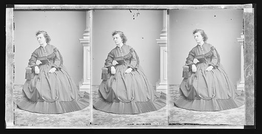 Pauline Cushman. Sitter: Pauline Cushman, 10 Jun 1833 – 2 Dec 1893. Date: 1860s. Record ID: npg_NPG.81.M3307.3.