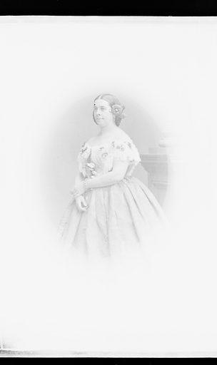 Anna Bishop. Sitter: Anna Bishop, 09 Jan 1810 – 18 Mar 1884. Date: 1860s. Record ID: npg_NPG.81.M3358.2.