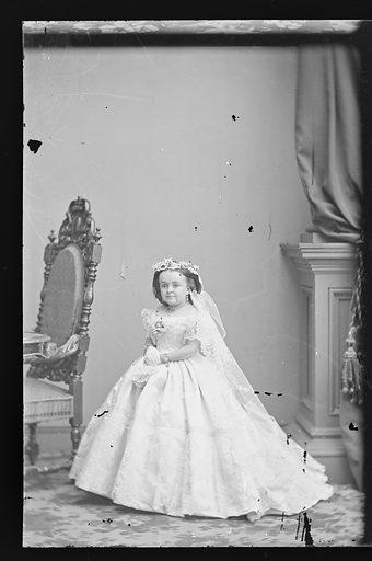 Mercy Lavinia Warren Stratton. Sitter: Lavinia Warren Stratton, 31 Oct 1841 – 25 Nov 1919. Date: 1860s. Record ID: npg_NPG.81.M3367.1.