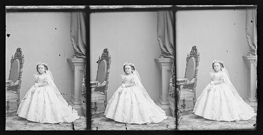 Mercy Lavinia Warren Stratton. Sitter: Lavinia Warren Stratton, 31 Oct 1841 – 25 Nov 1919. Date: 1860s. Record ID: npg_NPG.81.M3367.3.