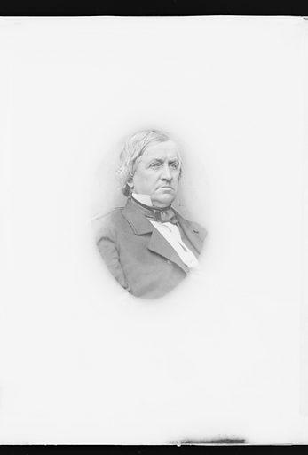 John Parker Hale. Sitter: John Parker Hale, 31 Mar 1806 – 19 Nov 1873. Date: 1860s. Record ID: npg_NPG.81.M3369.2.