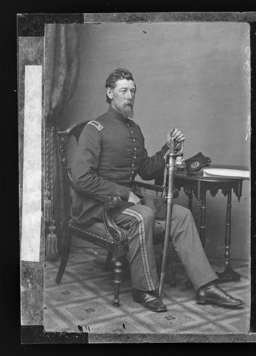 Alexander Shaler. Sitter: Alexander Shaler, 1827 – 1911. Date: 1860s. Record ID: npg_NPG.81.M3396.