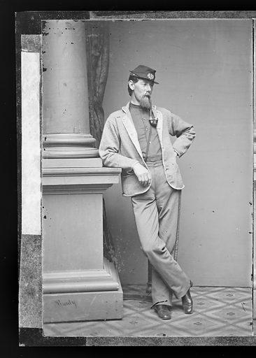 Alexander Shaler. Sitter: Alexander Shaler, 1827 – 1911. Date: 1860s. Record ID: npg_NPG.81.M3422.1.