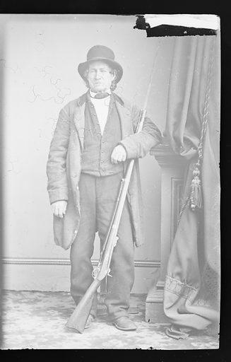 John Burns. Sitter: John Burns. Date: 1860s. Record ID: npg_NPG.81.M3426.3.