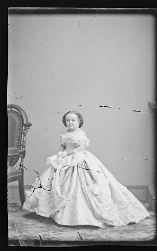 Mercy Lavinia Warren Stratton. Sitter: Lavinia Warren Stratton, 31 Oct 1841 – 25 Nov 1919. Date: 1860s. Record ID: npg_NPG.81.M3440.1.