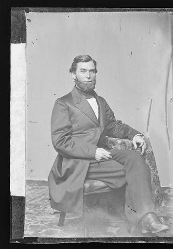Schuyler Colfax. Sitter: Schuyler Colfax, 23 Mar 1823 – 13 Jan 1885. Date: 1860s. Record ID: npg_NPG.81.M3515.1.
