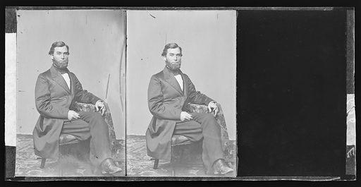 Schuyler Colfax. Sitter: Schuyler Colfax, 23 Mar 1823 – 13 Jan 1885. Date: 1860s. Record ID: npg_NPG.81.M3515.2.