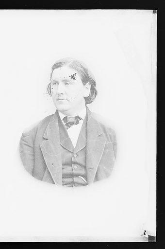 Alvin Bartlett. Sitter: Alvin Bartlett. Date: 1860s. Record ID: npg_NPG.81.M3555.2.