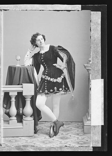 Kate Morenski. Sitter: Kate Morenski. Date: 1860s. Record ID: npg_NPG.81.M3560.2.