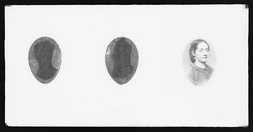 Kate Wilson Denin. Sitter: Kate Denin, 1837 – 1907. Date: 1860s. Record ID: npg_NPG.81.M3575.