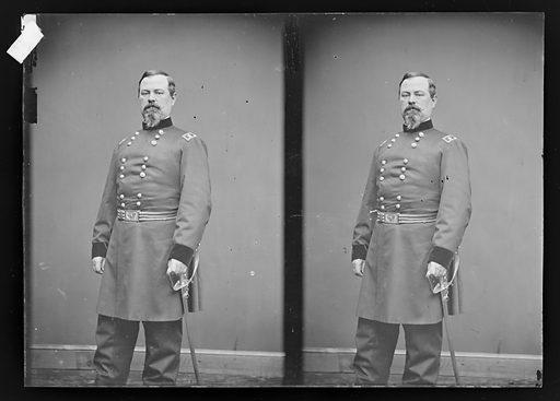 Irvin McDowell. Sitter: Irvin McDowell, 15 Oct 1818 – 4 May 1885. Date: 1880s. Record ID: npg_NPG.81.M3694.2.