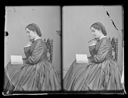 Clara Louise Kellogg. Sitter: Clara Louise Kellogg, 12 Jul 1842 – 13 May 1916. Date: 1860s. Record ID: npg_NPG.81.M3733.2.