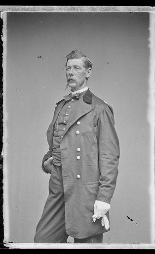 Alexander Shaler. Sitter: Alexander Shaler, 1827 – 1911. Date: 1860s. Record ID: npg_NPG.81.M3739.1.